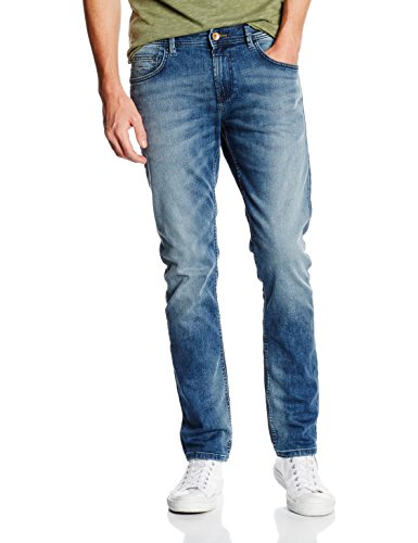 TOM TAILOR DENIM Piers Super Slim, Jeans Hombre Azul (Light Stone Wash Denim)