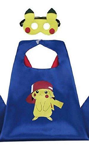 Honey Badger Brands Dress up Comic Cartoon Superhero Costume (Pokemon - Pikachu in (Honey Badger Costume Hat)
