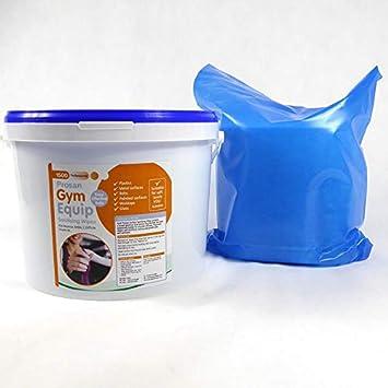 Gimnasio equipo sanitización toallitas limpiadoras - cubo de toallitas limpiadoras 1500 + 2 x 1500 limpiador de recambios - Gimnasio limpiador de superficie ...