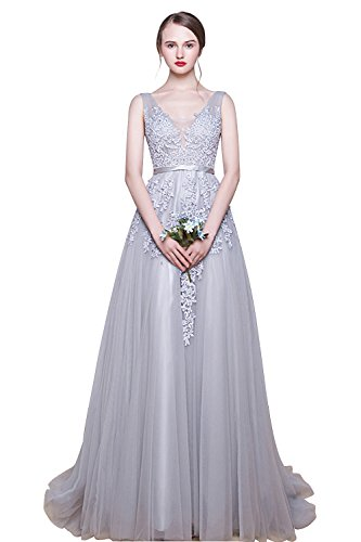 Babyonlinedress Romatic Lace Tulle Specail occasion dress,Grey,10