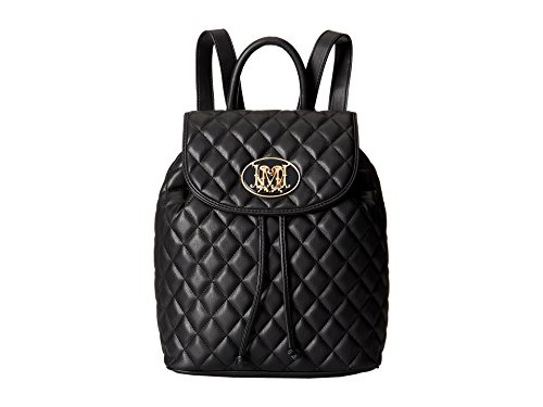 LOVE Moschino Quilted Backpack, Black