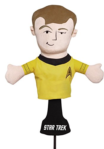 Creative Covers for Golf Star Trek Captain James T. Kirk Club Head Covers
