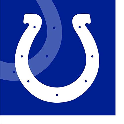 Indianapolis Colts Paper Napkins NFL Pro Football Sports Banquet Cocktail Game Day Themed College University Party Drink Supplies Luncheon for 20 Guests Blue Napkins