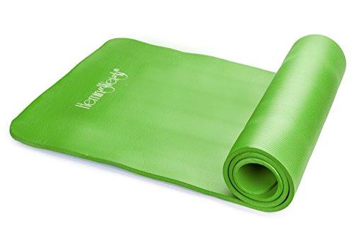 HemingWeigh High Density Exercise Yoga Mat Carrying
