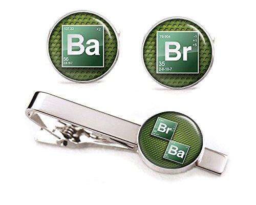 Breaking Cufflinks Heisenberg Jewelry Groomsmen product image