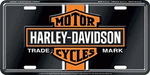 Chroma Graphics Harley Davidson Vintage Logo License - Vintage Logo Frame