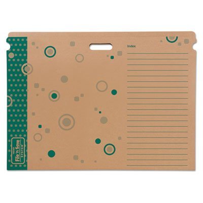 Save System (File 'n Save System Chart Storage Folder, 30-1/2 x 22-1/2, Bright Stars Design, Sold as 2 Each)