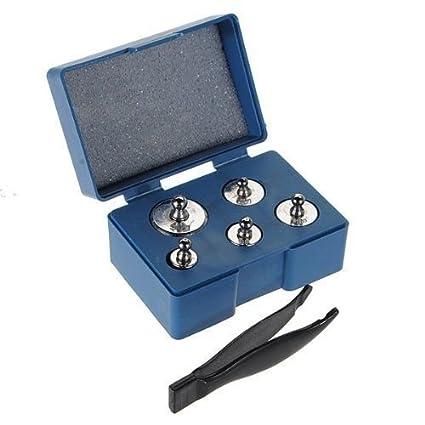Trimming Shop Pesos De Calibración Set para Bolsillo Básculas or Báscula Digital en 100g, 200g y 500g- Acero Inoxidable Prueba Peso by Plateado, ...