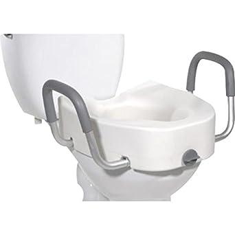Stupendous Amazon Com Graham Field 6487Ra 1 Locking Raised Toilet Seat Pabps2019 Chair Design Images Pabps2019Com