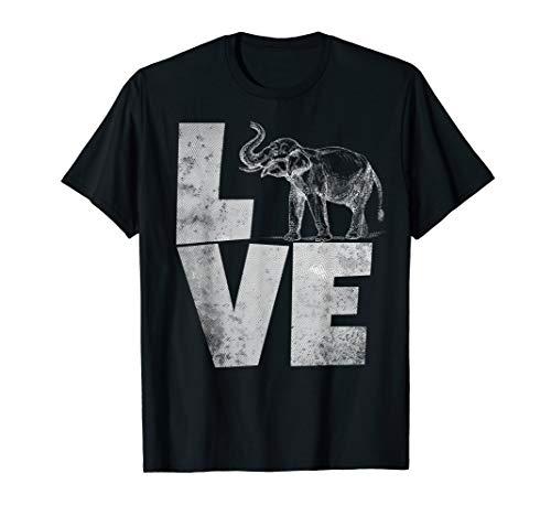 Love Elephants Funny Elephant Indian TShirt Spirit -