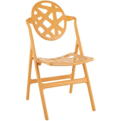 Safavieh Home Collection Kendall Folding Chair, Orange, Set of - Kendall Dining Room