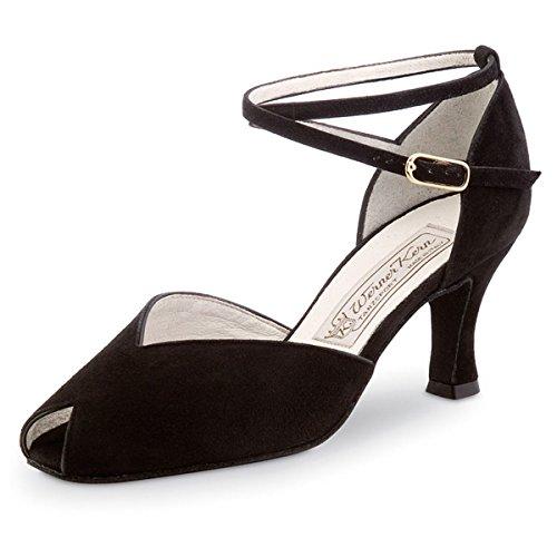 Werner Kern–Zapatos de baile para mujer Asta 6,5 negro