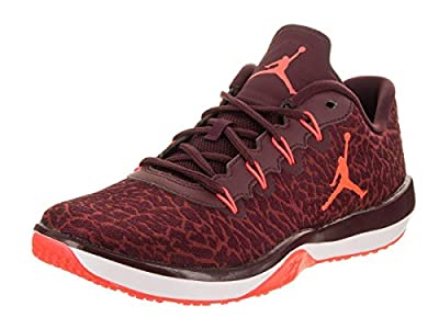 Jordan Nike Kids Trainer 1 Low BG Night Maroon/Infrared 23 Training Shoe 5 Kids US