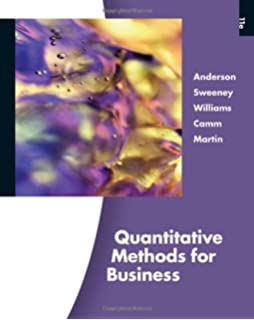 Quantitative methods for business 12th edition david r anderson quantitative methods for business with printed access card fandeluxe Gallery