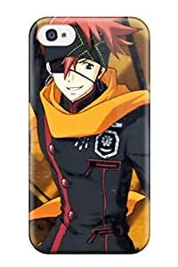 Hot D Gray Man Characters First Grade Tpu Phone Case For Iphone 4/4s Case Cover
