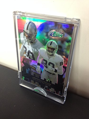 2003 Jerry Rice Oakland Raiders eTopps In Hand NFL Football Trading Card
