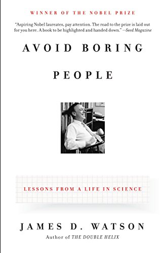 Avoid Boring People: Lessons from a Life in Science (Day In The Life Of A Golf Pro)