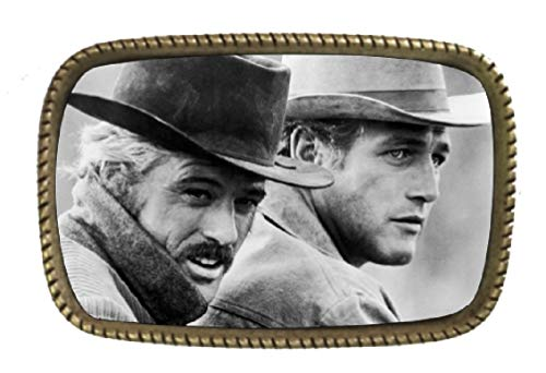 Butch Cassidy And The Sundance Kid Brass Belt Buckle Made In The USA