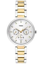 Timex Analog Silver Dial Women's Watch