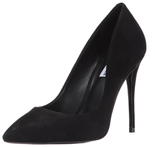 Steve Madden Women's Daisie Dress Pump, Black Suede, 7.5 M US