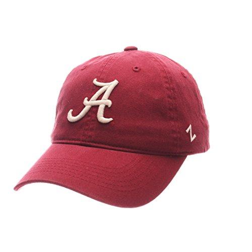 NCAA Alabama Crimson Tide Men's Scholarship Relaxed Hat, Adjustable Size, Team Color