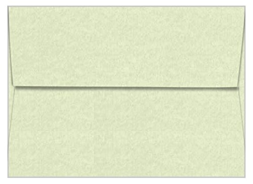 A7 Astroparche Celadon Envelopes - Straight Flap, 60T, 1000 Pack
