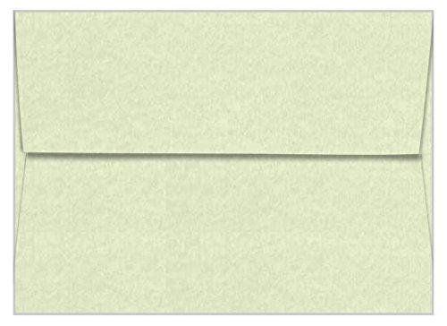 A7 Astroparche Celadon Envelopes - Straight Flap, 60T, 1000 Pack