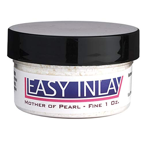 Crushed Mother-of-Pearl Inlay Supplies for Woodworkers, Turners, Casters, Luthiers, Professionals and Hobbyists - Fine, 1 oz.