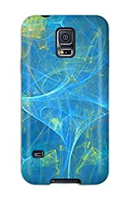 Snap-on Case Designed For Galaxy S5- Blue
