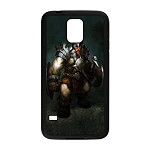 Caso Vikingo Atlantica Online Samsung Galaxy S5 caso de la cubierta del teléfono celular Negro Cubierta EVAXLKNBC03829