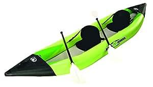 Explorer 88869 Aqua Marina - Kayak K2 (2 personas 400 x 90 cm) color verde y negro