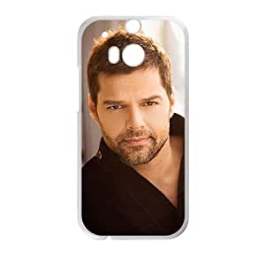 HTC One M8 Cell Phone Case White Ricky Martin