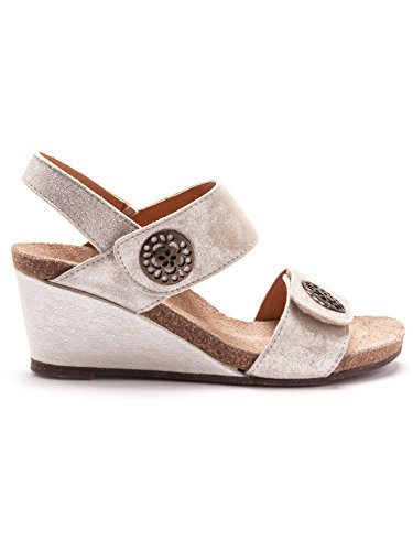 Balsamik - Sandalen - Damen - Size : 0 - Colour : Hellgrau-metallic