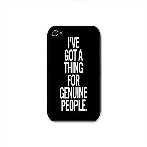 For Genuine People iPhone 4 Case, For Genuine People iPhone 4s Case Shipp From US