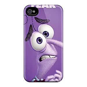 Scratch Resistant Hard Phone Cases For Iphone 4/4s (Phf8746HWQR) Support Personal Customs Realistic Inside Out Series