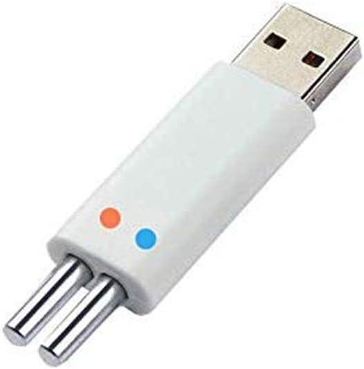 Angelpose Akku Leuchtende Elektronische Angelpose Akku Wiederaufladbare USB Ladeger/ät 3V Mit CR425 Batterie Set F/ür Nachtangeln Schwimmt Posen