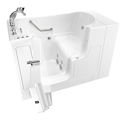 Safety Tub Air Bubble System - American Standard 3052OD.709.CLW-PC Gelcoat Value Series 30