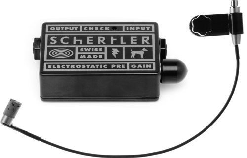 Schertler STAT-B Electrostatic Transducer for Double Bass with STAT-Preamplifier [並行輸入品]   B07M6CZFW7