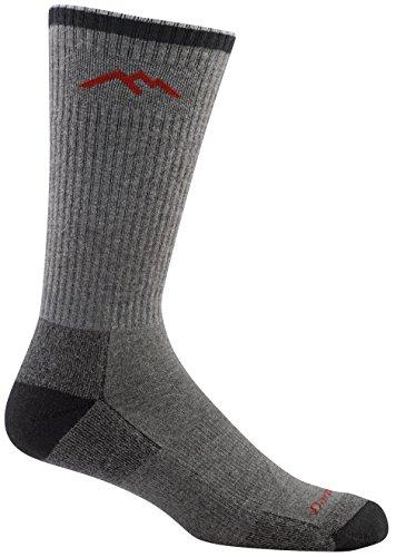 Darn Tough Coolmax Boot Cushion Socks - Men's Gray/Black Large