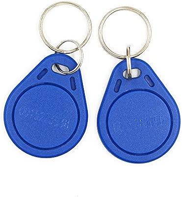 ABS 20pieces 125 KHz EM4100 RFID llavero utilizado para el ...