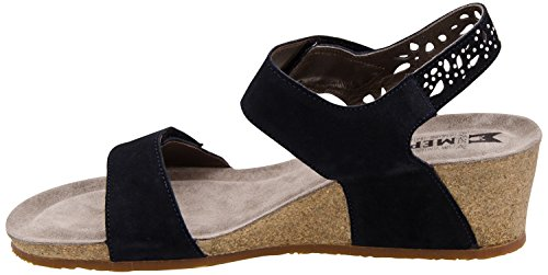 MEPHISTO scarpe SANDALO DONNA MARIE SPARK VELSPORT 3655 BLUE PE16
