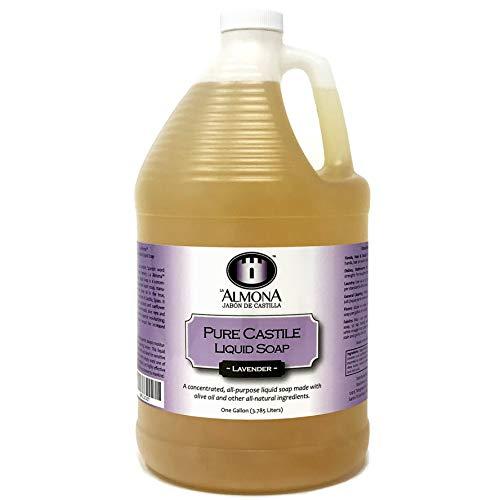 (La Almona - Pure Castile Liquid Soap (Lavender), 1)