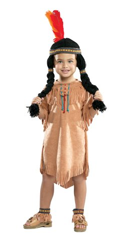 Indian Girl Costume:Toddler's Size 2T-4T by Cinema (Toddler Indian Costumes)