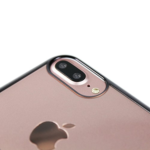 Hertha BSC Pro Case - Mittelstürmer - iPhone 8 Plus, iPhone 7 Plus und iPhone 6 Plus Hülle Schwarz