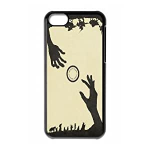 LSQDIY(R) Lord of the Rings iPhone 5C Personalized Case, Customised iPhone 5C Case Lord of the Rings