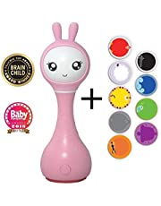 Alilo Smart Bunny (Sonajero inteligente para Bebés) Baby Rattle Gift Media Player Shake & Tell - Pink