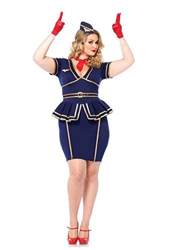 Plus  (Friendly Skies Flight Attendant Costumes)