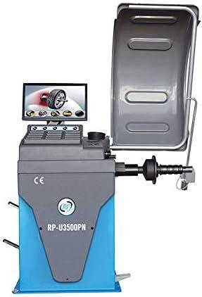 mit Messarm Auswuchtmaschine Reifen vollautomatisch 10-32 Zoll RP-U3500PN-230V 230 V LCD-Monitor pneumatische Felgenspannung