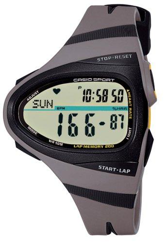 Casio Sport CHR-100-8VER - Reloj de caballero de cuarzo con correa de resina gris: Amazon.es: Relojes