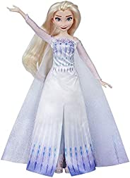 Disney Frozen Musical Adventure Elsa Singing Doll, Sings Show Yourself Song from 2 Movie, Elsa Toy for Kids, M